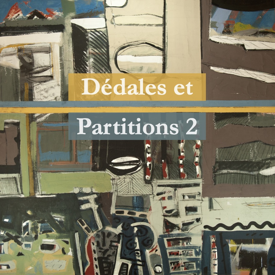 Dédales et Partitions 2 Gislaine Ariey écrivain
