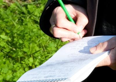 les carnets d'écriture