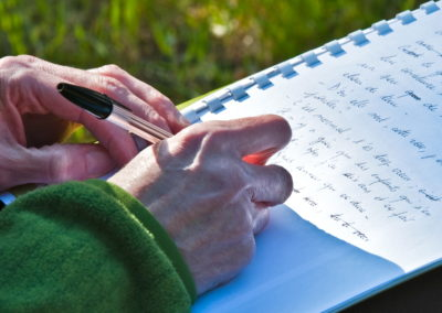 l'écriture à l'oeuvre