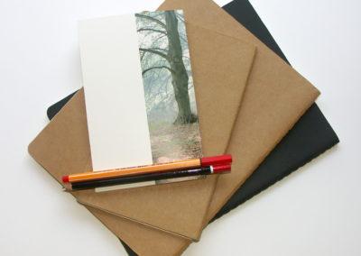 ateliers d'écriture et carnets