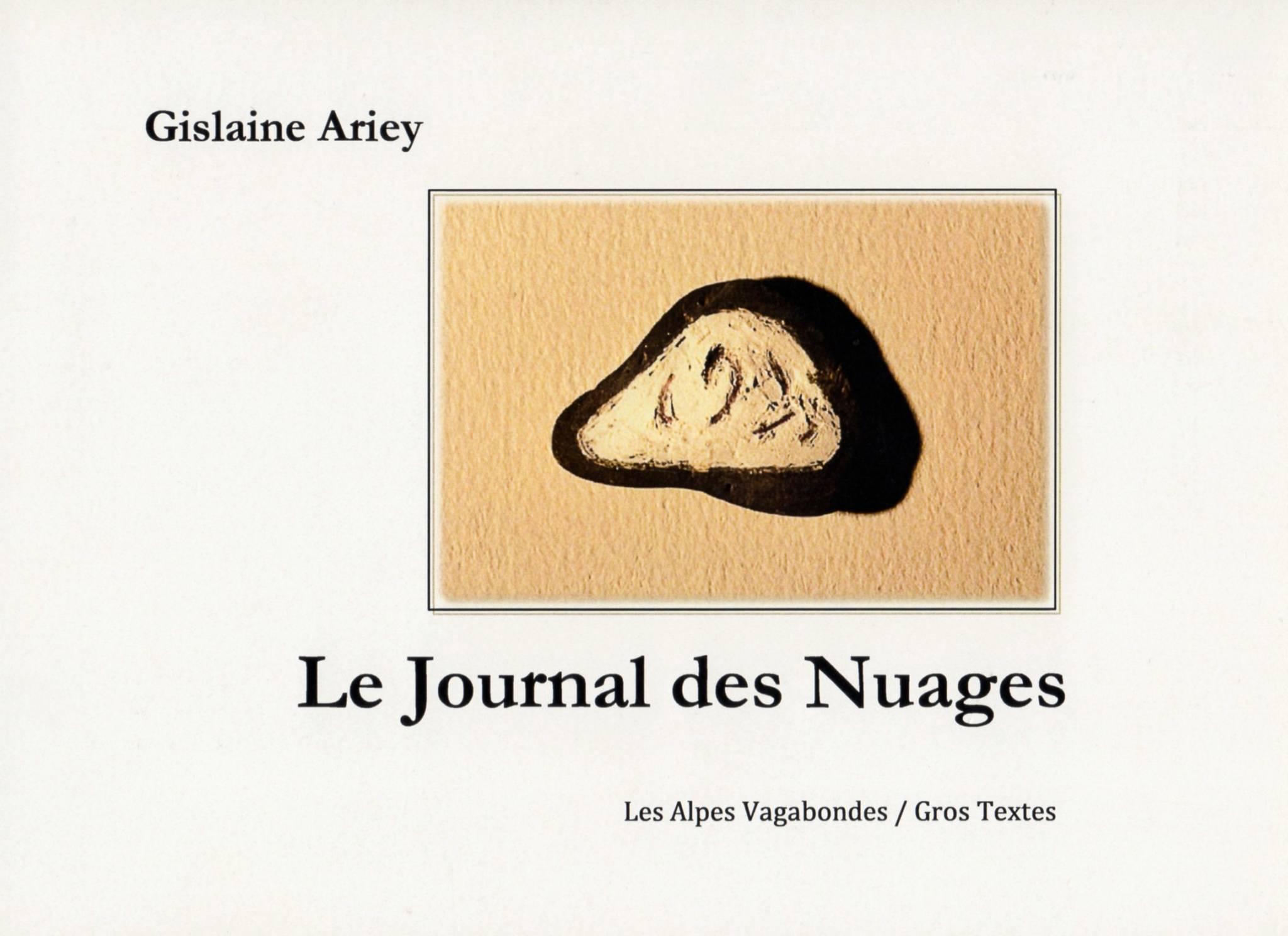 Le Journal des Nuages Gislaine Ariey écrivain