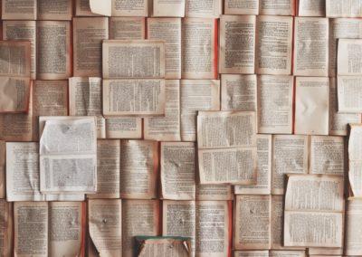 écrire à livres ouverts