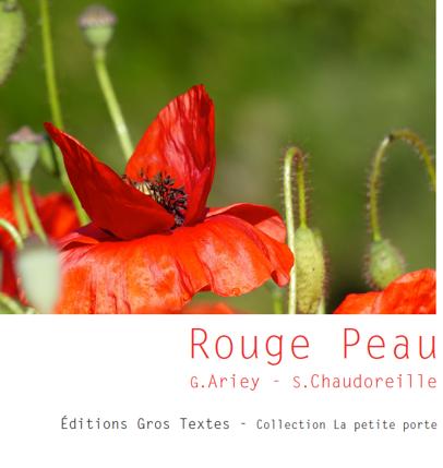 Rouge Peau Gislaine Ariey écrivain