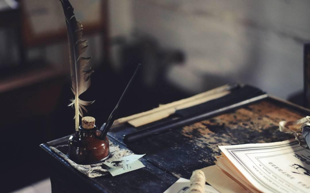 Écrivain public, un des plus vieux métiers du monde !